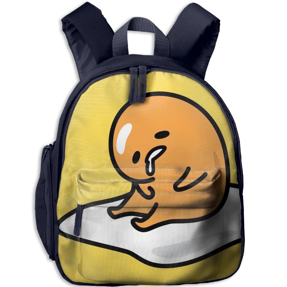 Amazon com | Girl School Bag Lazy Egg Gudetama Shoulder Bag