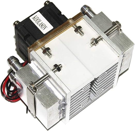 JIUY DC12V 108W de Agua de Aluminio de refrigeración del ...