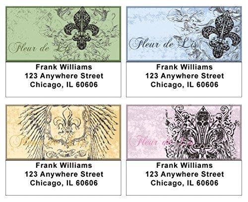 Fleur De Lis Address Labels (Royal Fleur De Lis Address Labels)