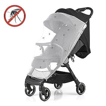 JTDEAL Mosquitera para Coche de Paseo/Capazo/Silla de Auto, Protege al Bebé para Evitar que Los Mosquitos, Insectos y Pequeñas Suciedades del Aire Lleguen: ...