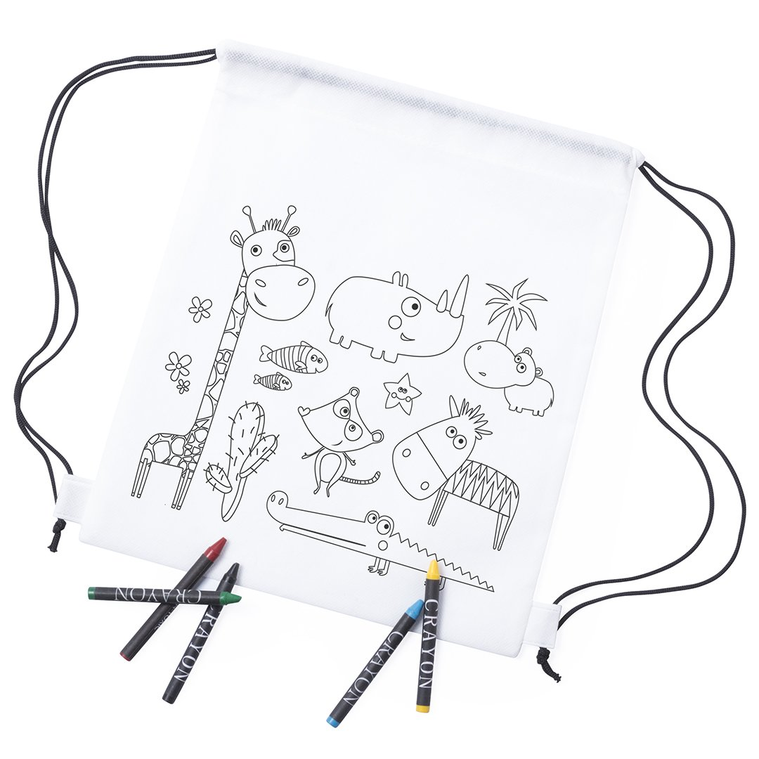 Crayones Incluidos Mochilas Cuerdas Pequeñ A Mochilas Escolares