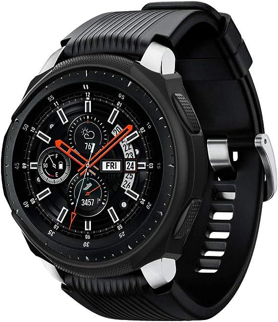 Spigen Liquid Air Armor Designed for Samsung Galaxy Watch Case 46mm (2018) / Designed for Samsung Gear S3 Frontier Case (2017) / Smartwatch Case - ...