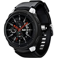 Spigen Liquid Air Serisi Kılıf Galaxy Watch (46mm) ile Uyumlu/TPU AirCushion Teknoloji/Ekstra Koruma - Black