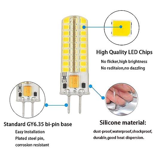 gy6 35 g6 35 led light bulb dimmable, gy6 35 bi pin base 5w ac dc
