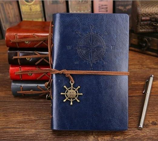 Cuaderno Diario Bloc de notas Vintage Pirata Anclas Cuaderno ...