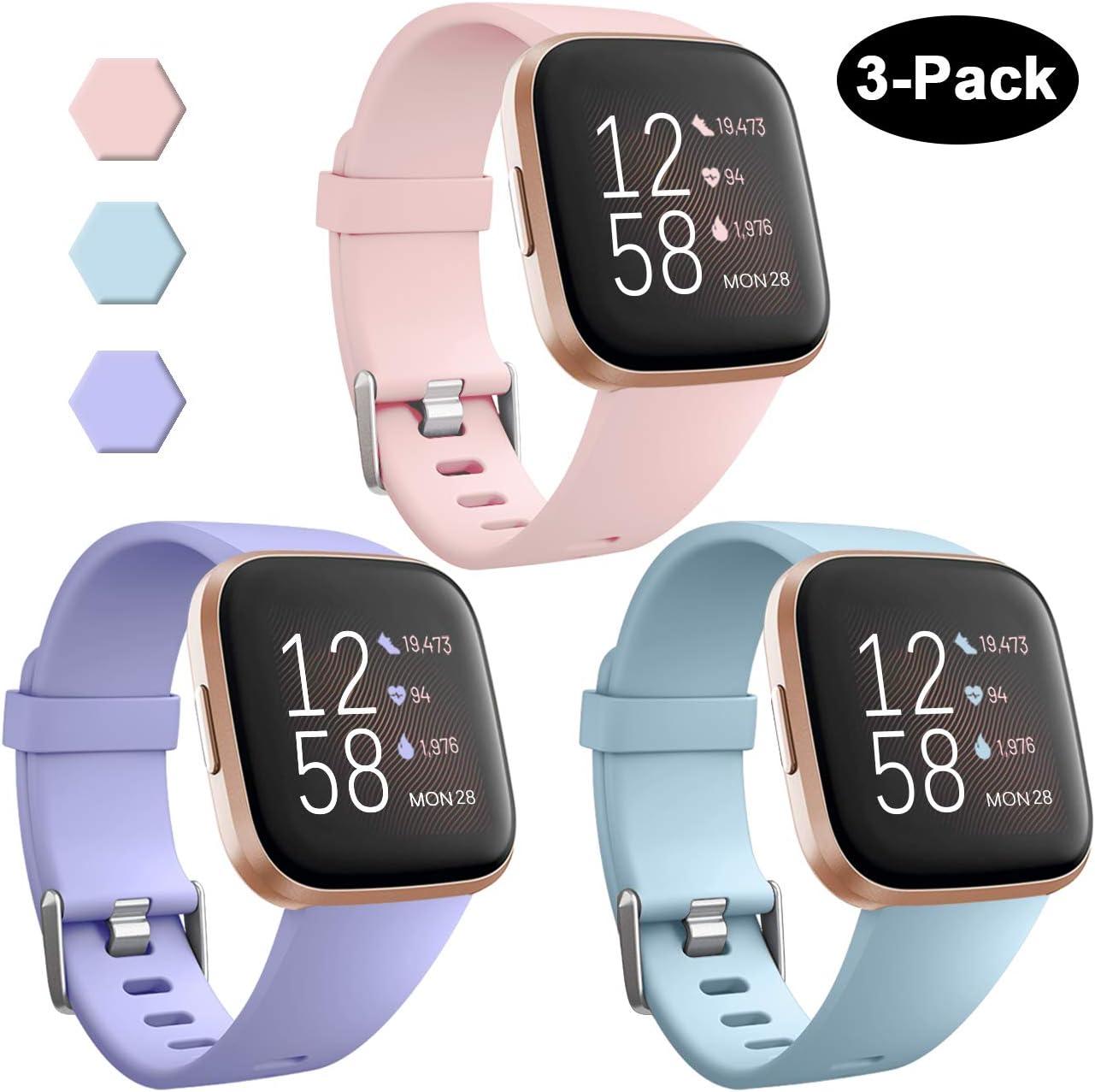 Mallas Reloj Fitbit Versa Y Fitbit Versa Lite (x3) Talle S