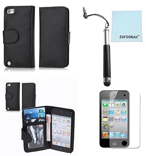 Zafoorah - Funda de piel sintética para Apple iPod Touch 4 4ª ...