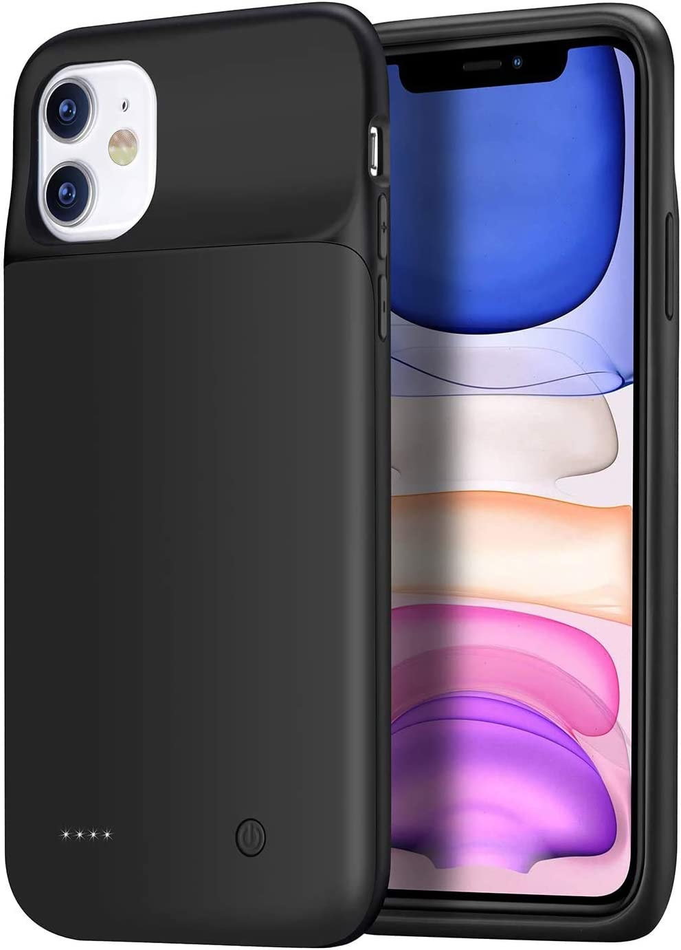 Wixann Battery case for iPhone 11, 4500mAh Slim Portable Charger Case Protective Rechargeable Battery Pack Charging Case for iPhone 11 (6.1 inch)