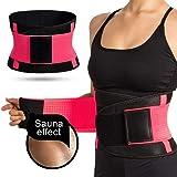 Cintura Entrenador, ASEKUN Fajas Reductoras Adelgazantes, Respirable Ajustable Cintura Belt Bodyshaper Cinturón, Cinturón de