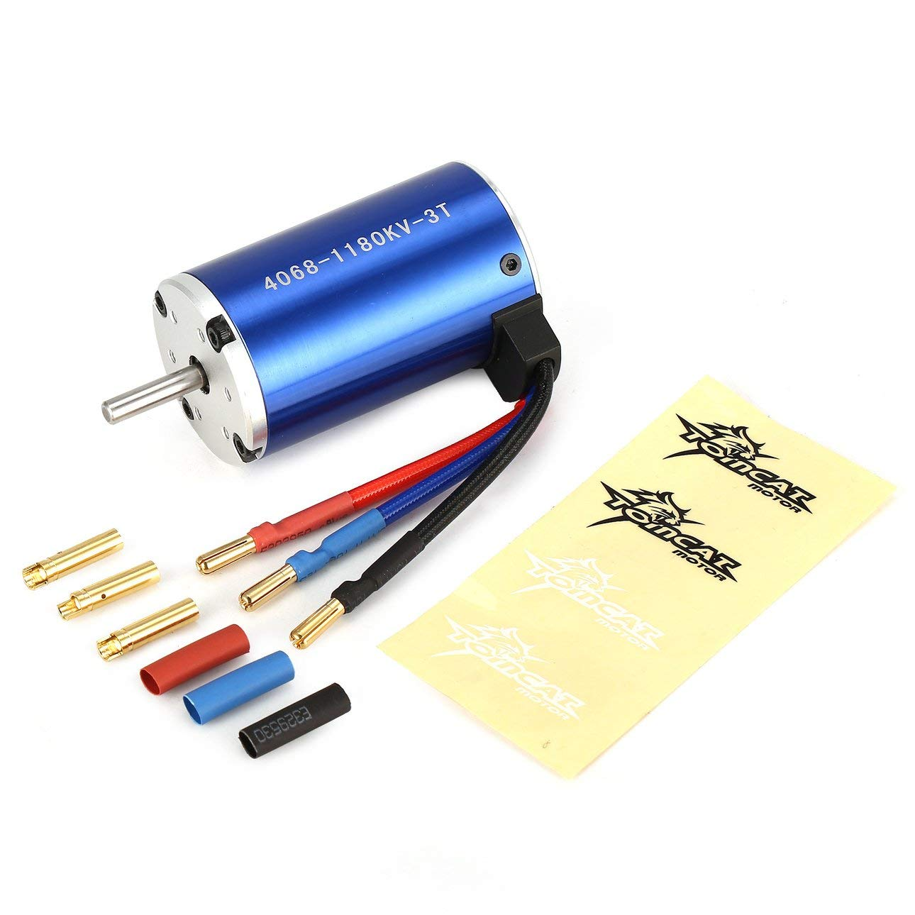 Liobaba TC-CY 4068 3T KV1180 5mm Sensorless Brushless Motor Off-Road RC Remote Control Car Model Spare Parts Component DIY