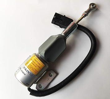 Blueview Diesel shut off solenoid 3932530 24V SA-4756-24 for CUMMINS 4BT//6BT5.9 engine