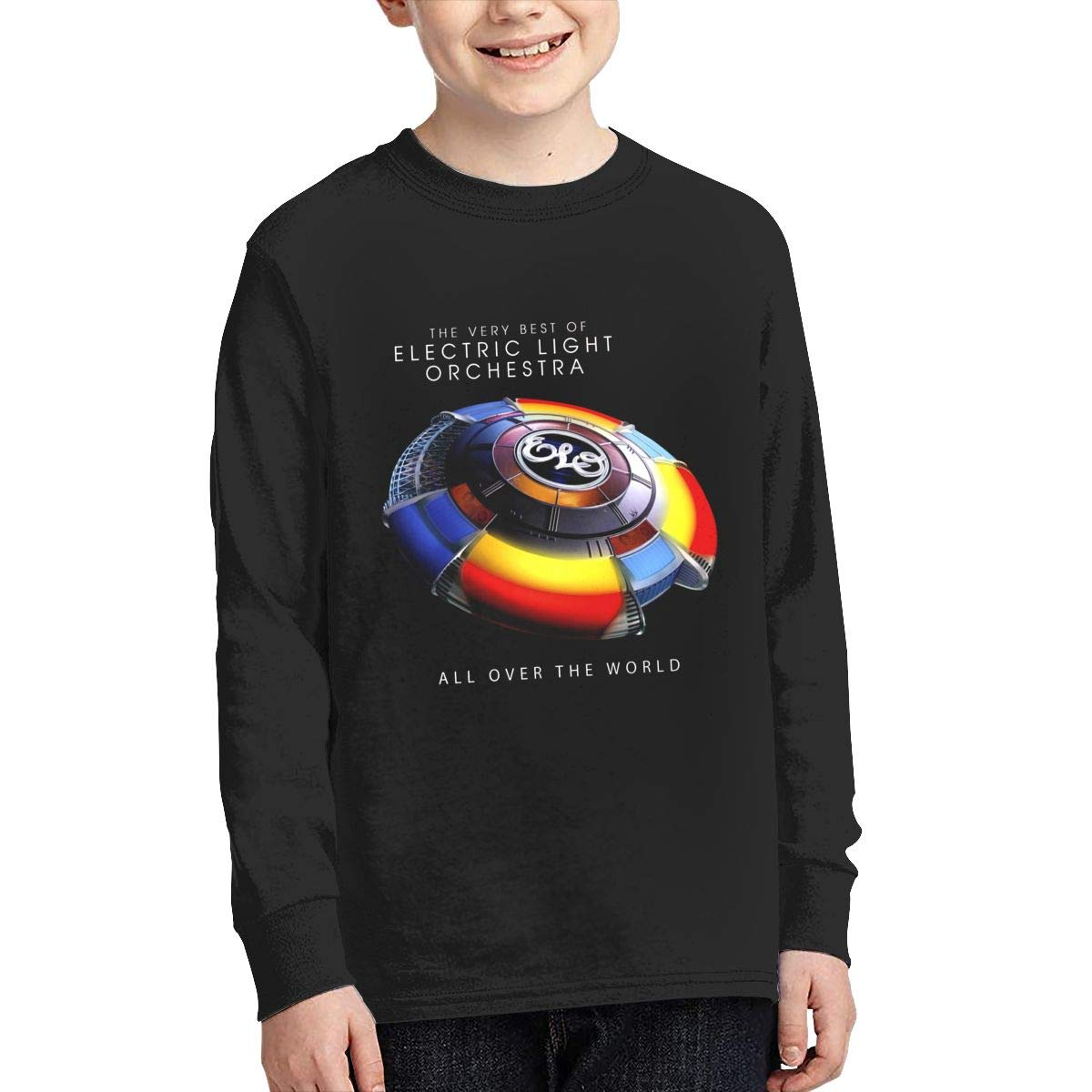 Onlybabycare Electric-Light Orchestra Big Boys Wicking Pullover Sweatshirt Cute Shirt