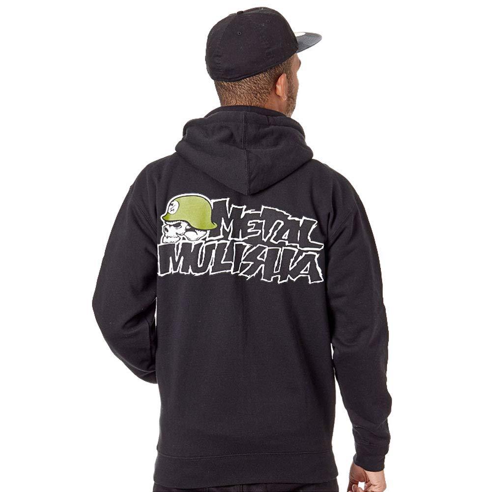 Ikon Zip Hoodie Metal Mulisha Mens Black 4XL-5XL