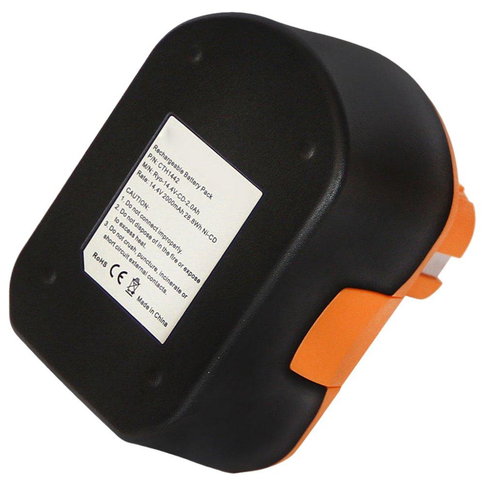 14.4V 2000mAh Ni-CD Battery for RYOBI CDL1442D 1311166 CDT1440 CTH1442 CDL1442P