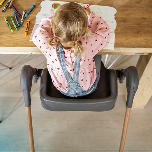 nutzbar ab der Geburt bis ca verstellbarer R/ückenlehne /& Liegefunktion inkl h/öhenverstellbarer Kinderstuhl 6 Jahre max. 30kg abnehmbarem Tisch Maxi-Cosi Minla Hochstuhl essential blue