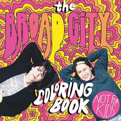 The Broad City Coloring Book cover
