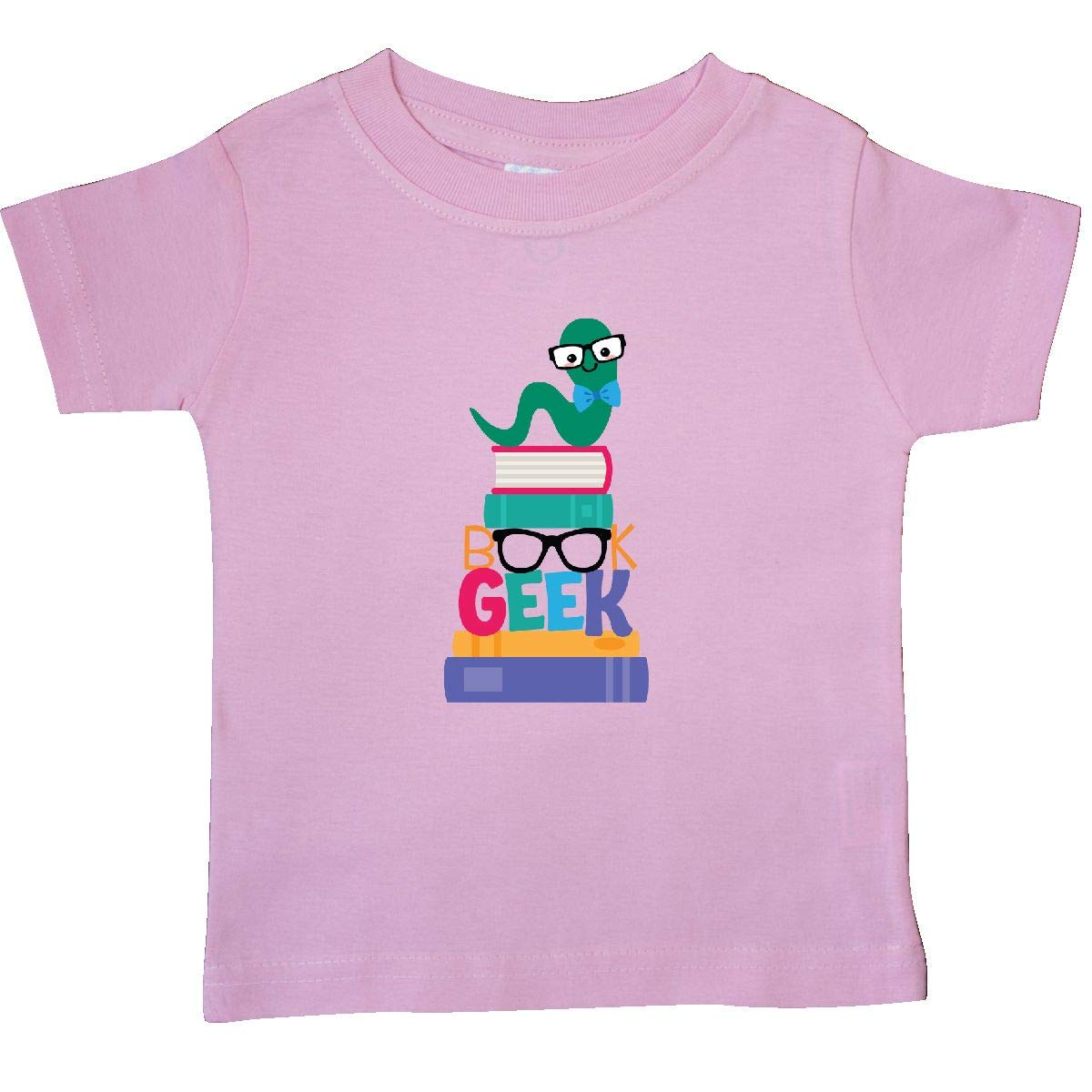 inktastic Book Geek Bookworm Reading Baby T-Shirt