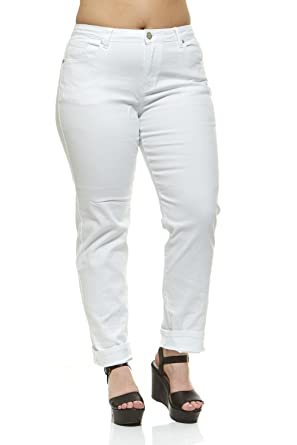 ac0fb68f88 V.I.P.JEANS Tall Plus Size Jeans for Women Mid Rise Skinny Color Options