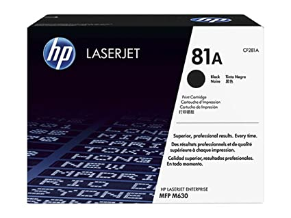 HP - impresora HP - Hewlett Packard duro y CP M 630 de serie (81 A ...