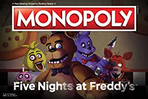 Monopoly Five Nights at FreddyS Board Game | Based on Five Nights at FreddyS Video Game | Officially Licensed Five Nights at FreddyS Merchandise | Themed Classic Monopoly Game: Amazon.es: Juguetes y juegos