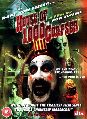 House of 1000 Corpses Poster B 27x40 Sid Haig Bill Moseley Sheri Moon (Rob Zombie Poster)