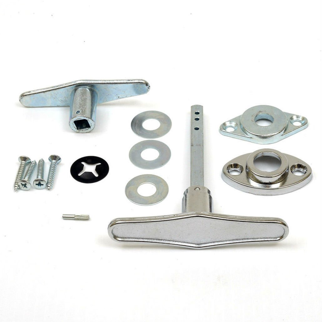 Bestee Garage Door Lock T - Handle Assembly (No Keys)