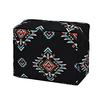 5cabd89cd3d1 Amazon.com : Southern Tribe NGIL Large Cosmetic travel Pouch : Beauty
