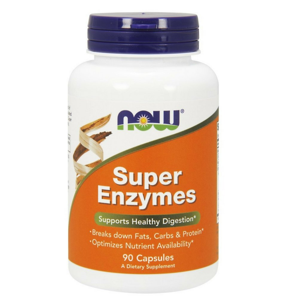 NOW Super Enzymes,90 Capsules