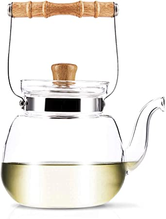 YAMA GLASS YAMT17 Teapot and Water Kettle 40 oz