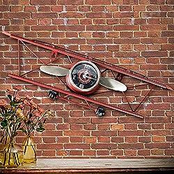 Y-Hui The Decor Clocks Boutique E-Metal Alarm Clock Iron Home Living Room Decoration Clock ,6# Foreign Trade.