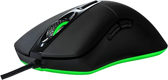 Giyach Ergonomic Optical Gaming Mouse Lightweight with 16.8Million Colors Chroma RGB LED Backlit