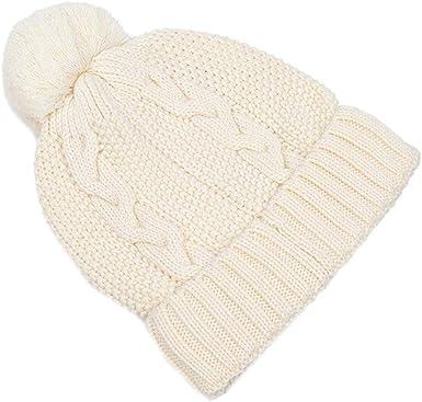 WDOIT Gorro térmico de algodón cálido para niños, 1 Venta, Color Blanco Azul L 50-52cm M: Amazon.es: Ropa y accesorios
