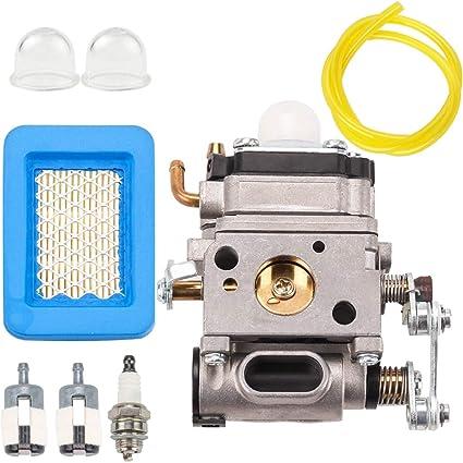 Amazon.com: Carburador línea de combustible filtro de aire ...