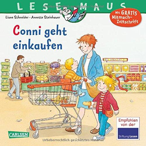 LESEMAUS, Band 82: Conni geht einkaufen