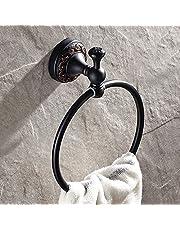 Weare Home wysokiej jakości mosiądz czarny olej, ścierany brąz, montaż na ścianie, uchwyt ścienny, wiercenie w stylu retro, styl antyczny, wieszak na ręczniki