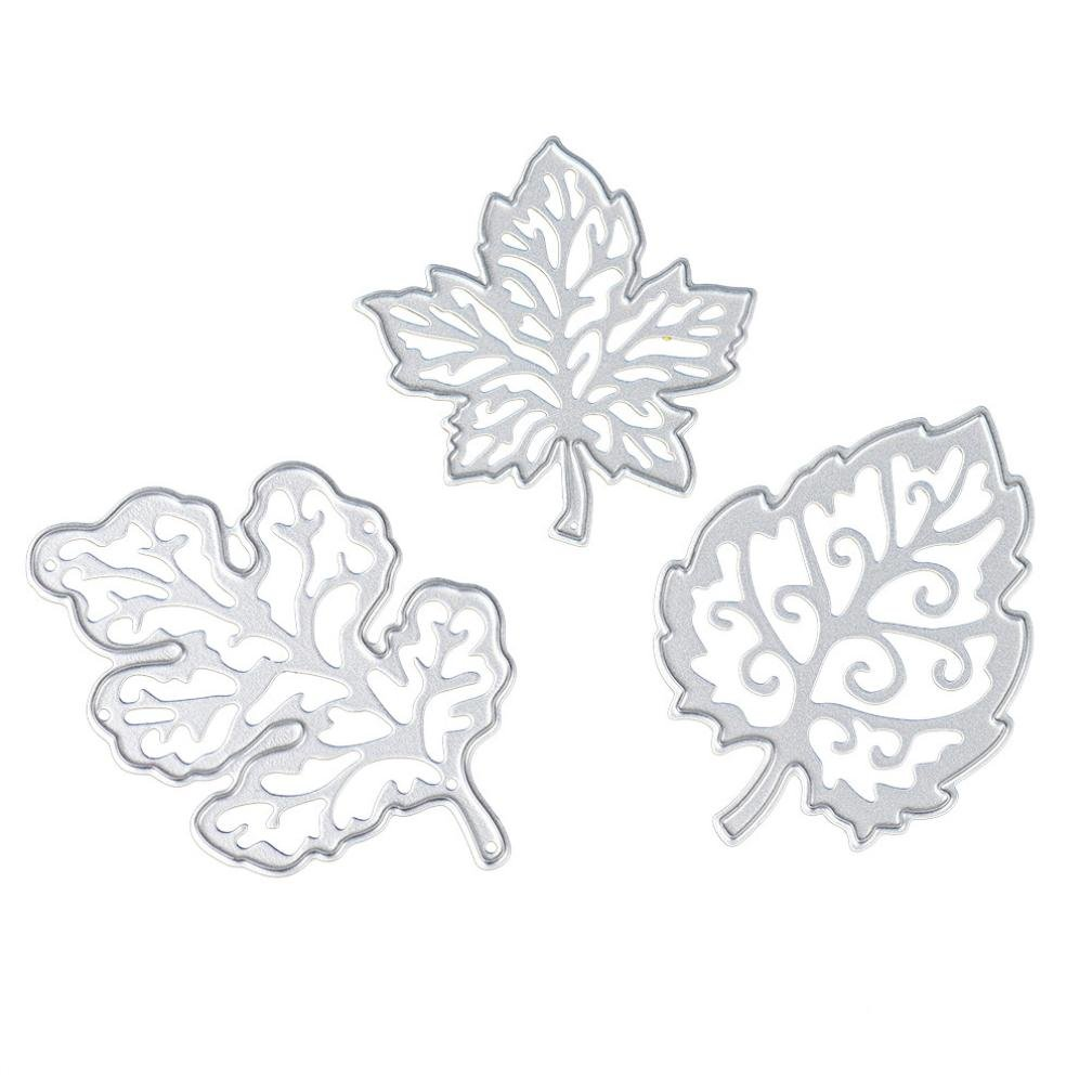 Covermason Cutting Dies Flower Metal Embossing Stencil For DIY Album Scrapbooking Paper Card Art Craft (C)