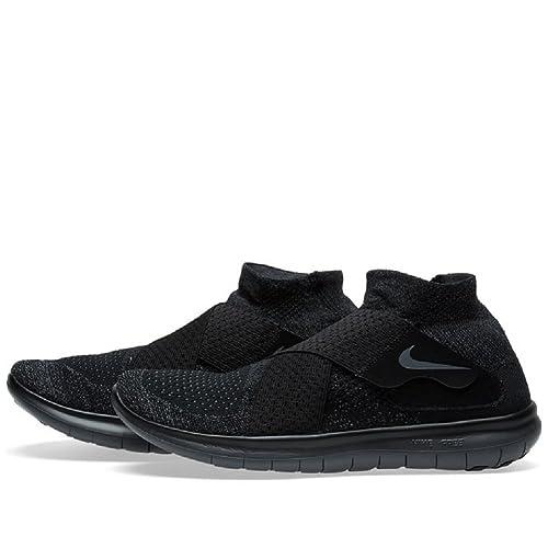 Nike Free RN Motion FK 2017, Zapatillas de Trail Running para Hombre, Negro (