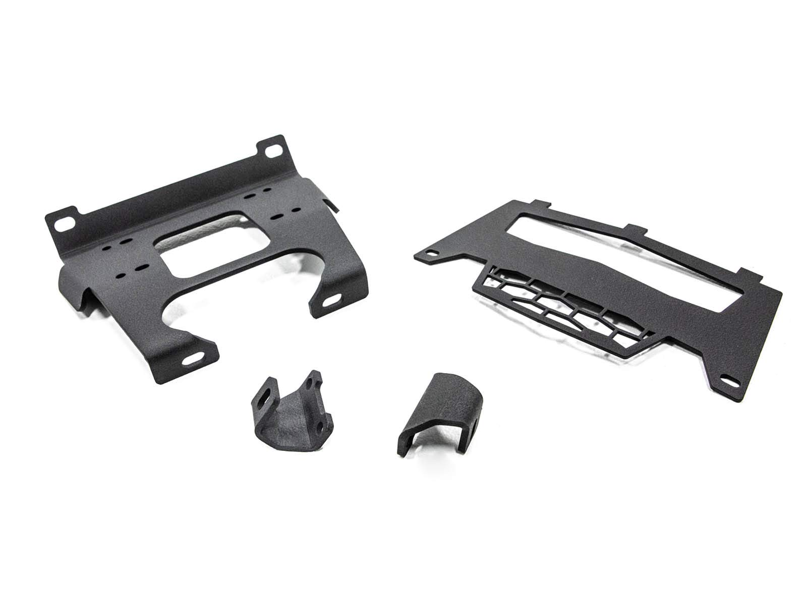 SuperATV Heavy Duty Winch Mounting Plate for Polaris RZR 900/900 S / 4 900 - (2015+) - For Machines Manufactured After 9/1/2014 by SuperATV.com