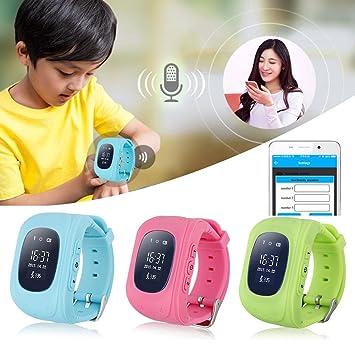 Niños Smart Watch Q50 Niños SIM Wristband GPS Tracker con ...