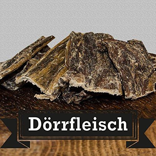 Dörrfleisch, Büffeldörrfleisch - 1000g - von George and Bobs