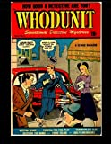 img - for Whodunit #1: 1948 Detective-Mystery Comic book / textbook / text book