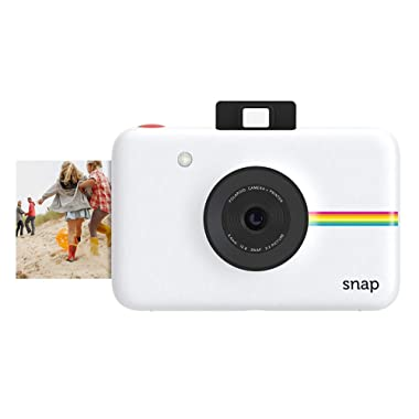Polaroid Snap Instant Digital Camera (White) with ZINK Zero Ink Printing Technology