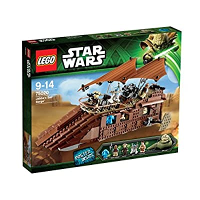 LEGO STAR WARS Jabbas Barge 75020: Toys & Games