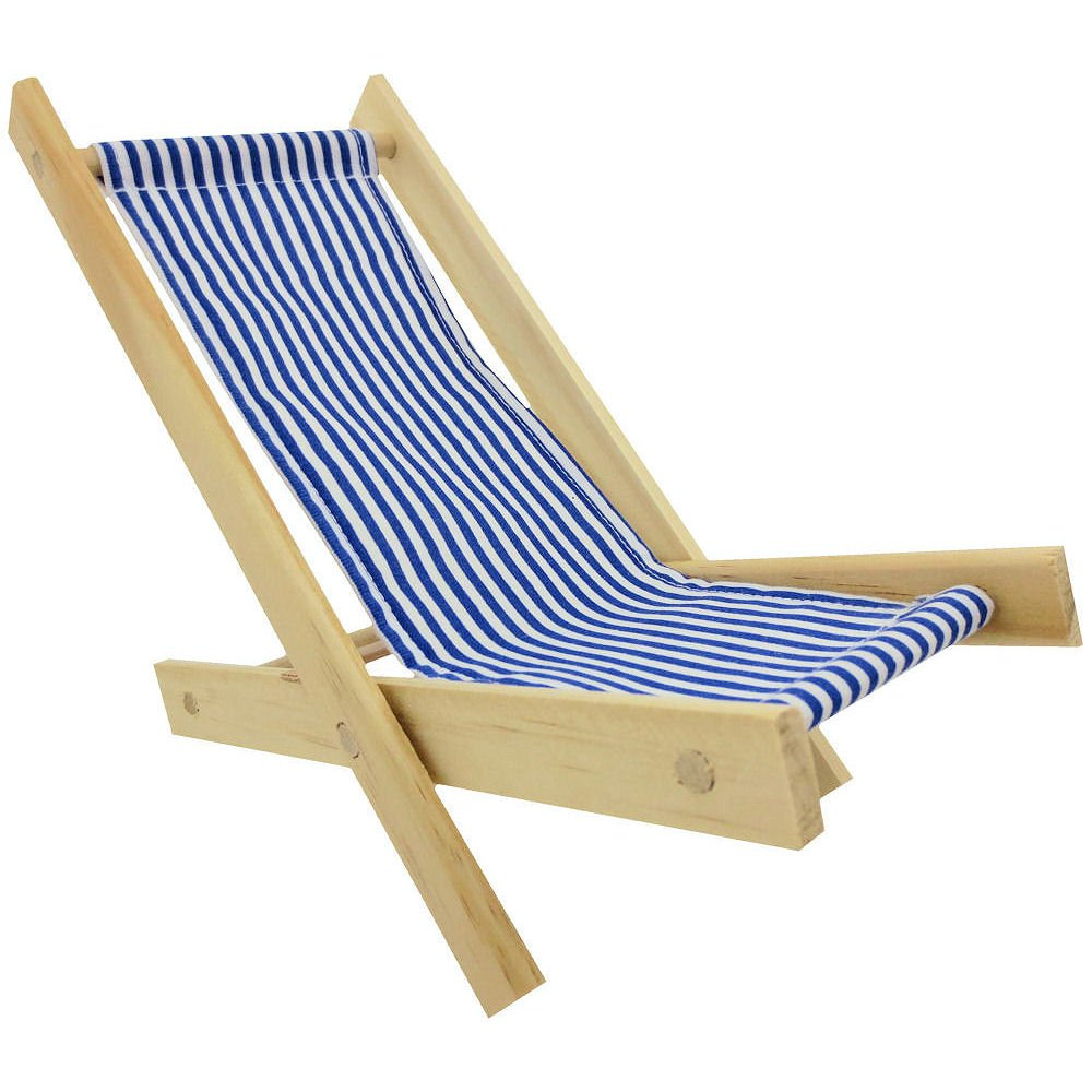 Stupendous Amazon Com Wooden Toy Folding Beach Chair With Blue And Caraccident5 Cool Chair Designs And Ideas Caraccident5Info