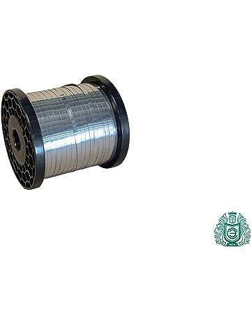 EN 1.4845 //Aisi-310S 10 Meter Edelstahldraht 0.4mm Basteldraht Edelstahl V2A Bindedraht Gartendraht