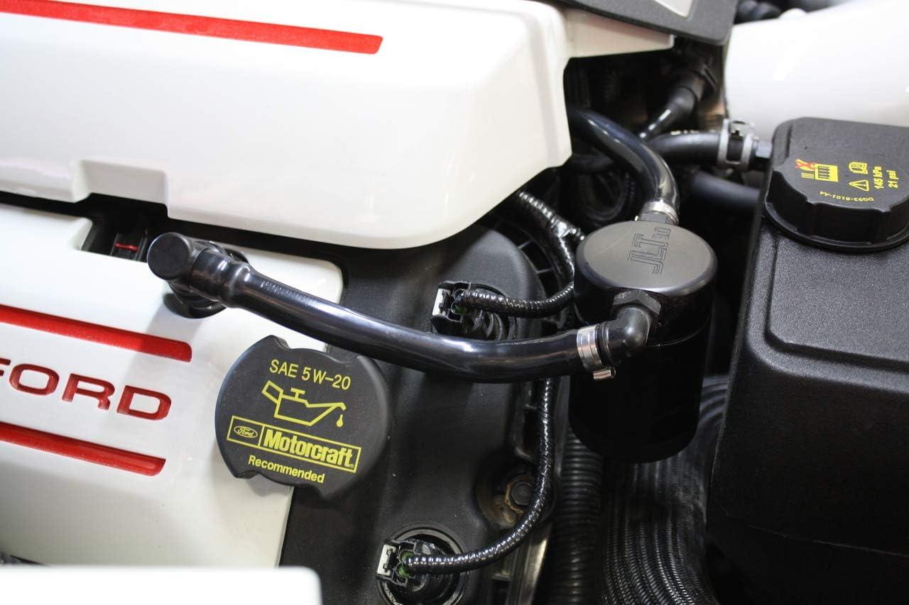 2018 2019 Mustang GT 5.0 JLT Oil Separator Satin 3.0 Passenger Side Must Have