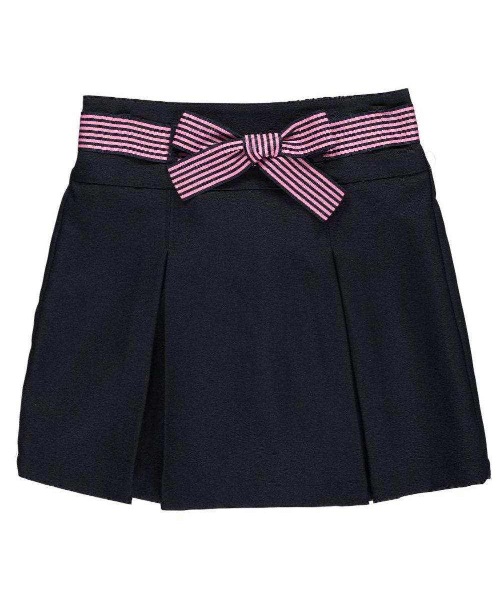 Nautica Big Girls'Grosgrain Bow Scooter Skirt 16