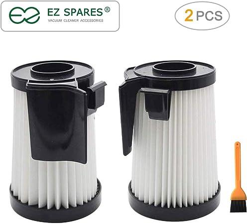 EZ Repuestos 2PCS DCF-10 & DCF-14 filtro HEPA para aspiradora Optima series fijación de recambio compatible con Eureka parte # 62731 & 62396: Amazon.es: Hogar