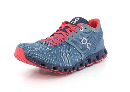 On Running Zapatillas Mujer Cloud X Lake Coral: Amazon.es: Zapatos y complementos
