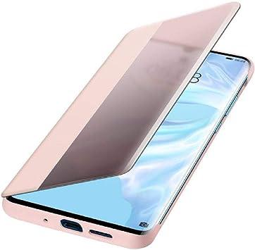 Huawei Funda con Tapa - Flip Cover Rosa para Huawei P30 Pro: Huawei: Amazon.es: Electrónica